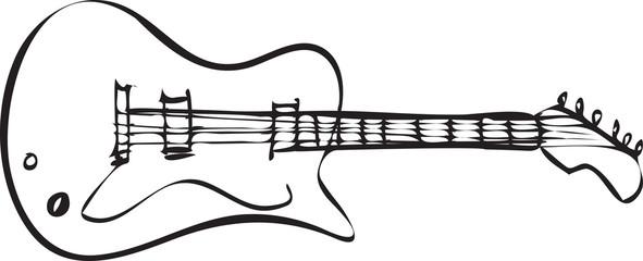 Electric Guitar Doodle