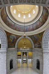 Interior of the State Capitol of Utah in Salt Lake City
