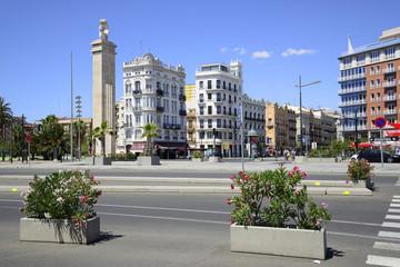 Streets of Valencia, Spain.