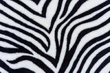 The texture of fabric stripes zebra - 68172355