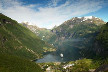 Northern Norwegian fjords.