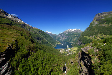 Northern Norwegian fjords.