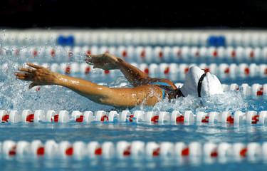 Nadador en estilo mariposa