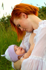 nursing mother nature