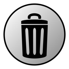 Garbage button