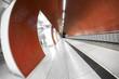 Leinwanddruck Bild - modern station interior