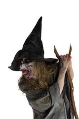 Bösartige Hexe