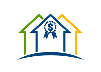 Home buyer logo real estate investment