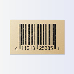 Vintage Bar Code Illustration