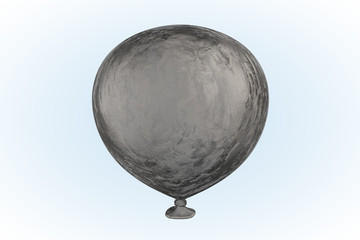Gray Stone Balloon