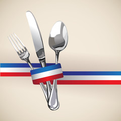 French Restaurant Catering Gastroservice Logo