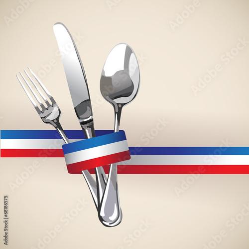 French Restaurant Catering Gastroservice Logo