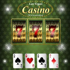 Casino gambling.