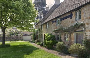 Terraced cottages, Cotswolds