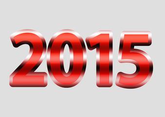 2015 Vermelho Metálico