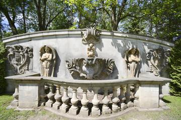 Relics in Guildwood Park in Toronto, Canada