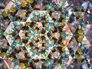 万華鏡の映像