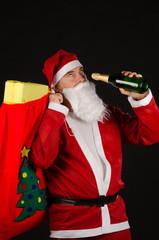Alcoholic Santa