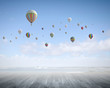 Flying aerostats