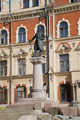 Памятник Торгильсу Кнутссону — основателю Выборгского замка