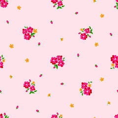 Small flower pattern seamless