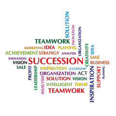 succession concept and other related words