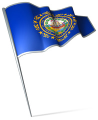 Flag of New Hampshire (USA)
