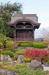Japanese Gateway in Kew gardens, London