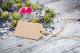 Fototapety Naturkosmetik, Textfreiraum vor Lavendel
