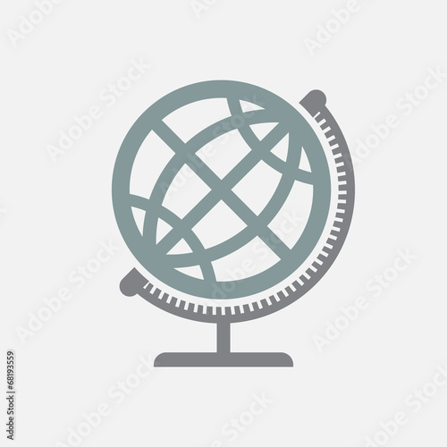 Geographical Globe Icon