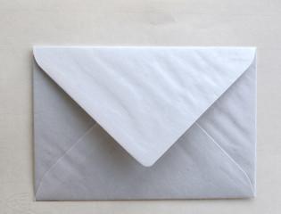 Briefhülle weiß, Freisteller