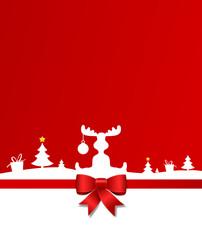 Elch Weihnachtsland