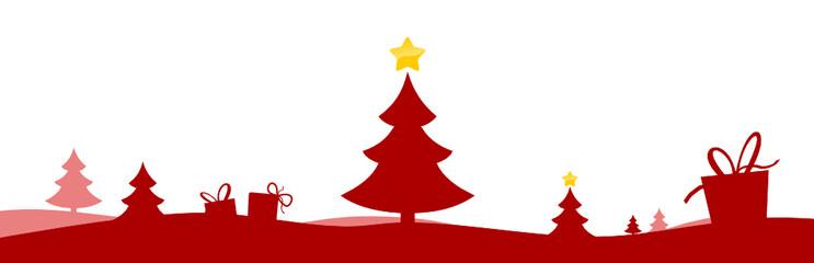 Weihnachtsland rot