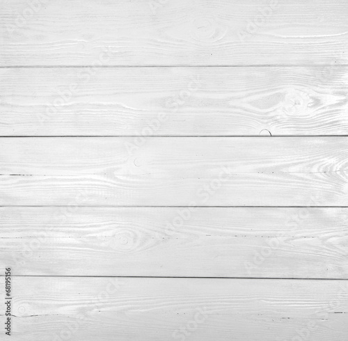 canvas print picture White wood texture