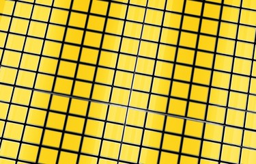 Yellow Cubes Background