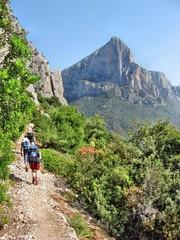 Trekking Selvaggio Blu
