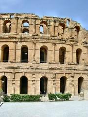 Anfiteatro romano di El Jem in Tunisia