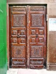 Porta nella Medina di Sfax in Tunisia