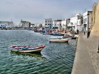 Il porto di Biserta in Tunisia