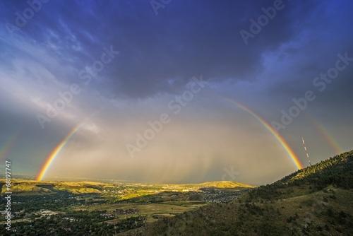 Rainbow Over Denver - 68197747