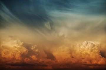 Stormy Cloud Nature Backdrop