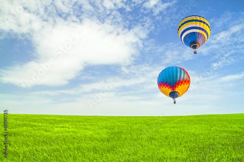 Fototapeta Flight of balloons