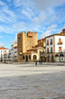 Main Square, Bujaco Tower, Cáceres, Spain
