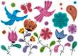 Floral Doodles - 68199333