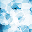 blue tint soft abstract geometric background  stained-glass wind