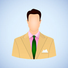 Businessman avatar