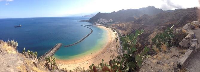 playa Las Teresitas de Tenerife