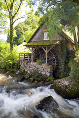 Wassermühle im Schwarzwald
