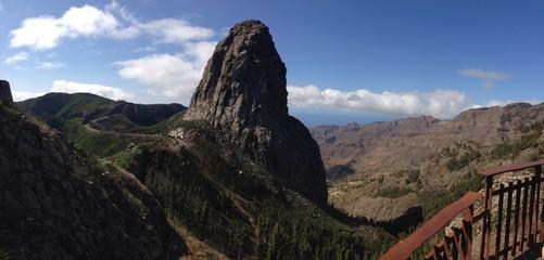 cono volcanico en La Gomera Islas Canarias