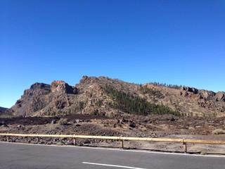 montañas de Teide en Tenerife